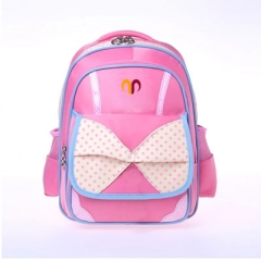 School polyester backpack kids school bags