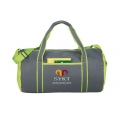 Travel and leisure barrel duffel bag