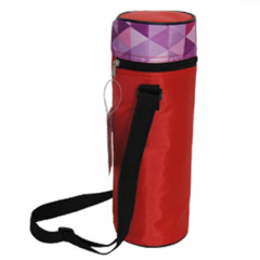 Long strap wine cooler bag for bottle