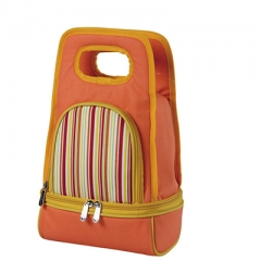 polyester portable cooler bag for food