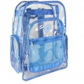 Outdoor transparent clear pvc backpack