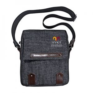 Quan zhou factory men jean shoulder bag