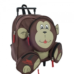 Cute trolley backpack bags