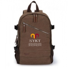 2014 New design high quality canvas laptop backpack