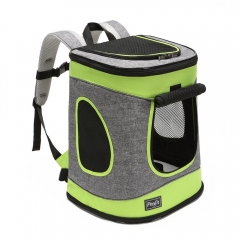 High Quality Comfort Dogs Carriers/Backpack,Hold Pets up to 15 LBS,Go for Walk, Hiking and Cycling 17 H x13 L x11 D
