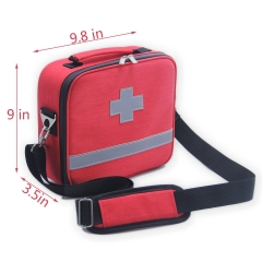 First Aid Kit Bag Reflective Emergency Empty Bag Emergency Equipment Kits Gift Choice for Family,Home, Outdoors,Hiking&Camping,Car, Workplace, Office